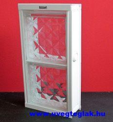 Fém üvegtégla szellőző 2-es