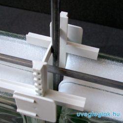 Rozsdamentes acél merevítő vasalat 200 cm