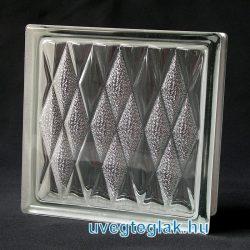 lozenge üvegtégla