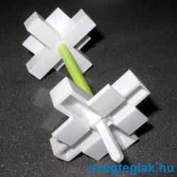 üvegtégla távtartó fugakereszt 10mm-es